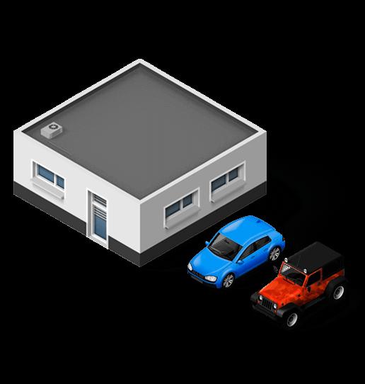 Gasolinera Con Car Wash